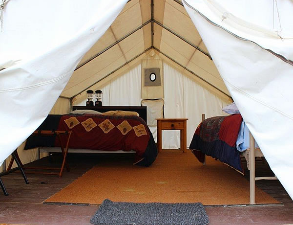 Heated Sleeping Tents